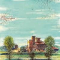 Լումարինի ամրոցը | Château de Lourmarin | Վիմագրություն | Lithographie 32x24.5 cm | 1965