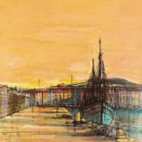 Սեն-Տրոպե | Saint-Tropez | Վիմագրություն | Lithographie 32x24.5 cm | 1964
