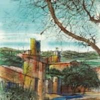 Ռեմատյուել | Ramatuelle | Վիմագրություն | Lithographie 32x24.5 cm | 1965