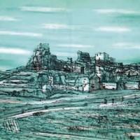 Լե Բո | Les Baux | Վիմագրություն | Lithographie | 32x49 cm