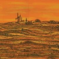 Դոդեի ջրաղացը | Le moulin de Daudet | Վիմագրություն | Lithographie | 32x49 cm