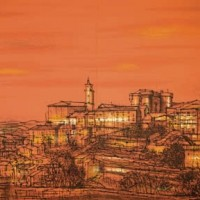 Գորդ | Gordes | Վիմագրություն | Lithographie | 32x49 cm
