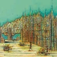 Պատրանքների պալատը | Le palais des mirages | Վիմագրություն | Lithographie | 56x76 cm | 1990