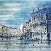 Մեծ ջրանցքը | Le Grand Canal | Վիմագրություն | Lithographie | 38×56 cm | 1968