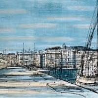 Սեն-Տրոպե | Saint-Tropez | Վիմագրություն | Lithographie | 38×56 cm | 1968