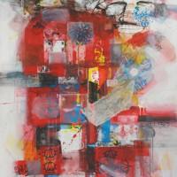 Մեդիտացիա | Meditation I Կտավ, միքս մեդիա | Canvas, mix media | 130x97 cm | 2007