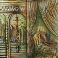 Սենյակը | La chambre | Վիմագրություն | Lithographie | 38x28.5 cm