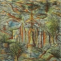 Անդունդների մատուռը La chapelle des abîmes | Վիմագրություն | Lithographie | 38x28.5 cm