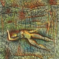 Անտառը | La forêt | Վիմագրություն | Lithographie | 38x28.5 cm